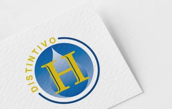 sello distintivo H